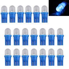 Lot of 20 T10 bulb LED lamp blue light DC 12V 0.2W for Auto Car U8E4 Q8T7