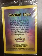ONE ANCIENT MEW Sealed MEW Promo Movie Double Holo Foil Rare GEM MINT!!