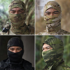 MultiCam Camo Balaclava Tactical Outdoor Hood Hunting Sports Protect Face Mask