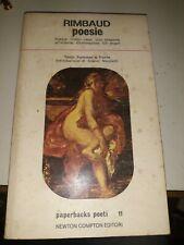 Rimbaud poesie Newton Compton 1977