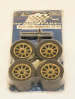 R29081 RADIAL TIRE SET ( ON ROAD ) GOLD - 1/14 SCALE Nikko