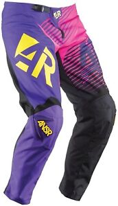 NOS ANSWER 459154 A15 WMX RIDING PANTS PINK PURPLE SIZE WOMENS 2
