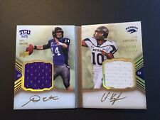 Andy Dalton / Kaepernick 2011 Exquisite RC Auto/Jersey Booklet #/40  FREE SHIP