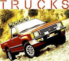 1989 MITSUBISHI PICKUP TRUCK BROCHURE-MIGHTY MAX PICKUP-4X4 SPX MACRO CAB PICKUP