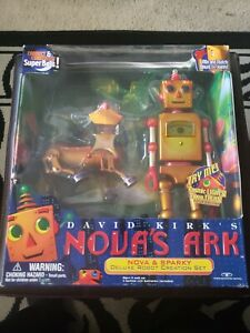 Nova's Ark (1999) Trendmasters, Nova & Sparky Deluxe Robot Creation Set - MISB