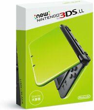 Nintendo 3DS LL XL Lime Green Black Console 2016 Nintendo 3DS XL 4902370533217
