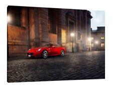 Ferrari California 30x20 pouces Toile Encadré photo print Supercar Art