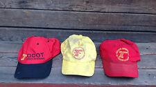 Lot of 3 ODOT (Oregon Dept of Transportation ) Hats