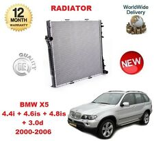 FOR BMW X5 E53 4.4 4.6 4.8 is 3.0 d 2000-2006 NEW RADIATOR UNIT