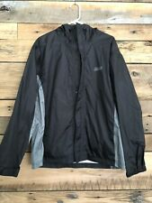 Coleman Pullover Raincoat Jacket Hood Gray Mesh Lining 1//4 Zip Mens 2XL NEW