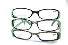 UV 0564 Lady Reading Glass Color Frame +2.25 3 for 1 price