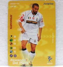 FOOTBALL CHAMPIONS Italiano 2002-03 - ALESSANDRO DEL PIERO - 45/107 JUVENTUS