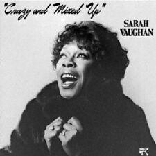 SARAH VAUGHAN - CRAZY AND MIXED UP  CD NEW