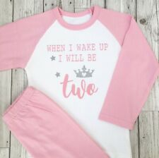 Personalised Second Birthday Pyjamas Boys 2nd Birthday