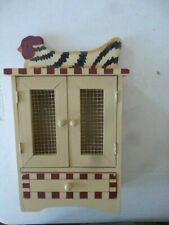 1/6 Custom Wooden Gun Cabinet Johnny West Country Style - Working doors & drawer