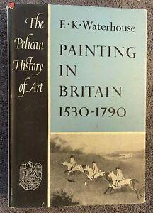 1953 PAINTING IN BRITAIN, PELICAN HISTORY OF ART, WATERHOUSE, free EXPRESS AU