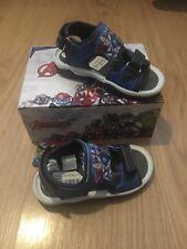 Boys Kids New Summer Beach Avengers Strap Sports Sandals Shoes Size 9