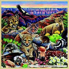 48 st puzzel: Houten puzzels - Grand Canyon Wildlife (Verenigde Staten, Dieren)
