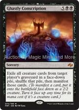 Fate Reforged ~ GHASTLY CONSCRIPTION mythic rare  Magic the Gathering card