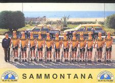 TEAM SAMMONTANA 1982 Cyclisme ciclismo cycling Cycliste Ciclista MORENO ARGENTIN