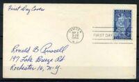 Stati Uniti 1956 Mi. 704 Primo Giorno 100% Festa dei lavoratori