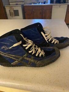 Asics Rulon Wrestling Shoes (Rare) Size 13 Blue