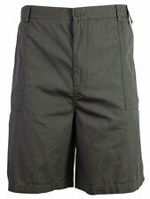 Geoffrey Beene Men's Flat Front Cotton Shorts, Sz 42