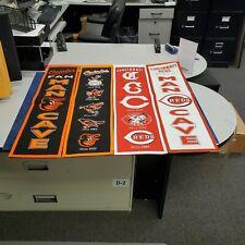 Baltimore Orioles/Cincinnati Reds Banners