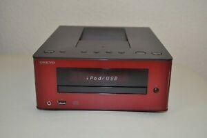 ONKYO CR 245 Receiver Amplifier Stereo Anlage iPhone Dock USB Musikanlage