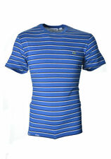 Lacoste Crew Neck Short Sleeve Striped T-Shirts for Men