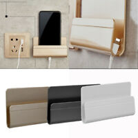 Cable Organizer Mobile Phone Wall Charger Holder Mount Bracket Hanging Stand