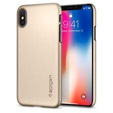 Spigen Thin Fit Case for iPhone X - Champagne Gold