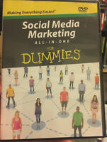 Social Media Marketing All-in-One For Dummies, DVD Only in its Box - No Book