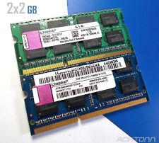 4GB Lot Kingston DDR3 PC 3 SODIMM 4GB 2x2GB Laptop RAM Memory KVR1333D3S9/2G