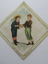 Pretty Victorian greetings card