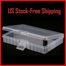Battery Box Storage Case Holder Clear Transparent Container For 48 AAA Batteries