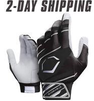 EvoShield Adult SPEED STRIPE GEL TO SHELL Batting Gloves BLACK/GRAY/WHITE