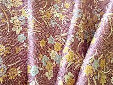 "Vintage Japanese Kimono Fabric | Light Purple Patch 160cm(63"")| Panel Patchwork"