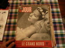 magazine hebdomadaire NUIT ET JOUR  n° 63 mars  1946 irene skorik le grand nord