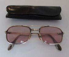 Vintage AMERICAN OPTICAL Sunglasses 12k Gold gf Gold Frames PILOT Glasses Frames