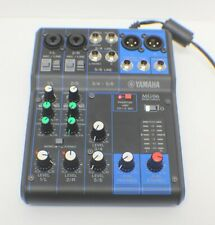 Yamaha MG06 DJ Recording Mixer - 6 Channels with Ac Adapter