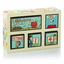Peanuts perpetual calender  Sold out Changeable blocks season etc