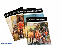 Lot of 5 VTG Tradition Magazines The Journal of Int Society Military Collectors