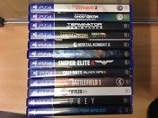 PS4 Spielesammlung Konvolut 12 Spiele Games kein schrott dabei