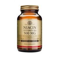 Solgar Niacin 500 mg (Vitamin B3) Vegetable Capsules 100