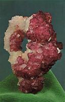Postcard Fluorite Crystals Rosiclare Illinois