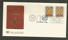 UNITED NATIONS -1963 15th Anniv. of Declaration of Human RIGHTS - F.D. COVER.