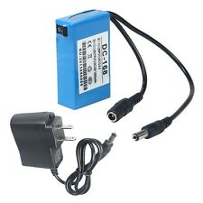 Mini Portable DC-168 12V Rechargeable Li-ion Battery Pack for CCTV Camera Home