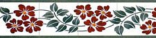 Mural Ceramic Backsplash Art Nouveau Border Tile #552