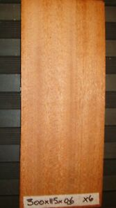 REAL WOOD VENEER 6 X MAHOGANY SHEETS,REFURBISHING,CRAFTS,MARQUETRY,BOXES,MODELS